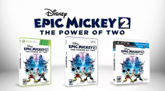 Hot Game Pick: Disney's Epic Mickey 2 