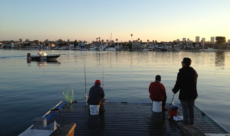 Newport Beach Fisherman